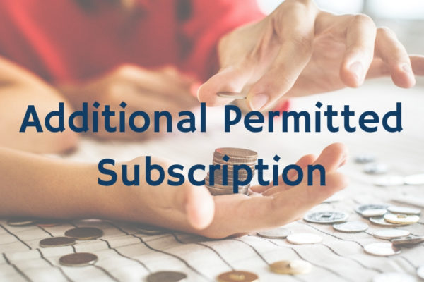 Additional Permitted Subscription