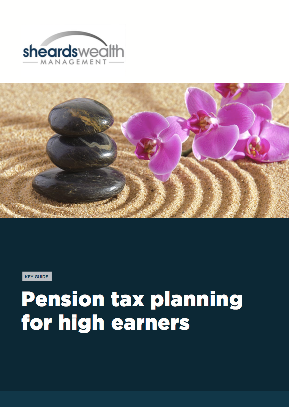 Pension and tax planning for high earners